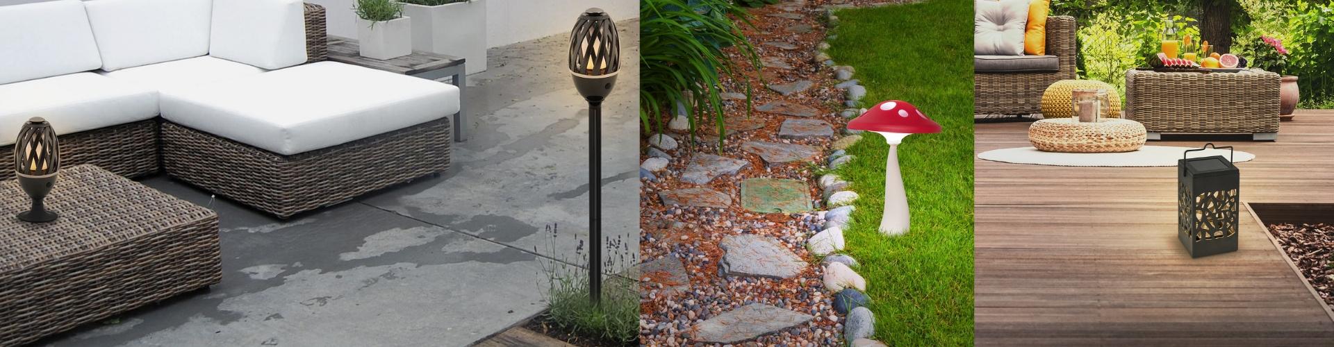 Venkovní dekorativní lampy