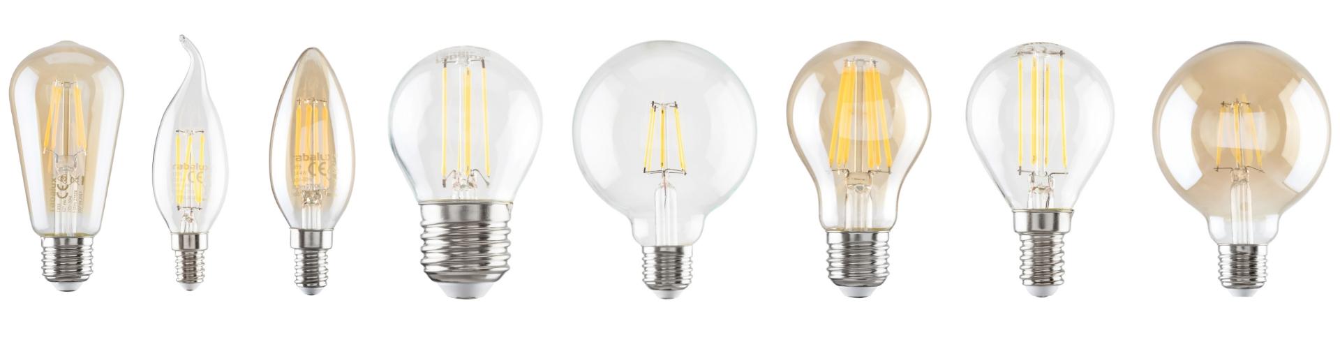 LED vlákna